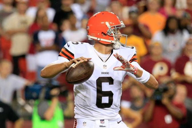 Mike Pettine, Browns Name Brian Hoyer Starting QB