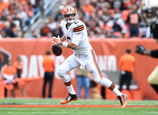 Browns Drive Late To Stun Saints, 26-24
