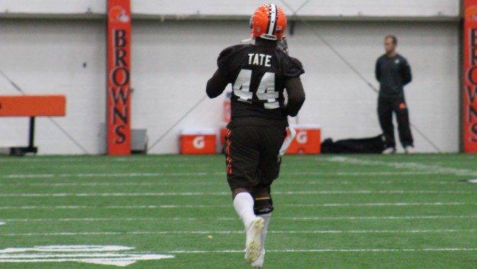 RB Ben Tate Returns To Practice As Browns Get Back To Work