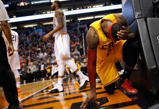 James' 33 In Return Not Enough, Cavs Lose Sixth Straight